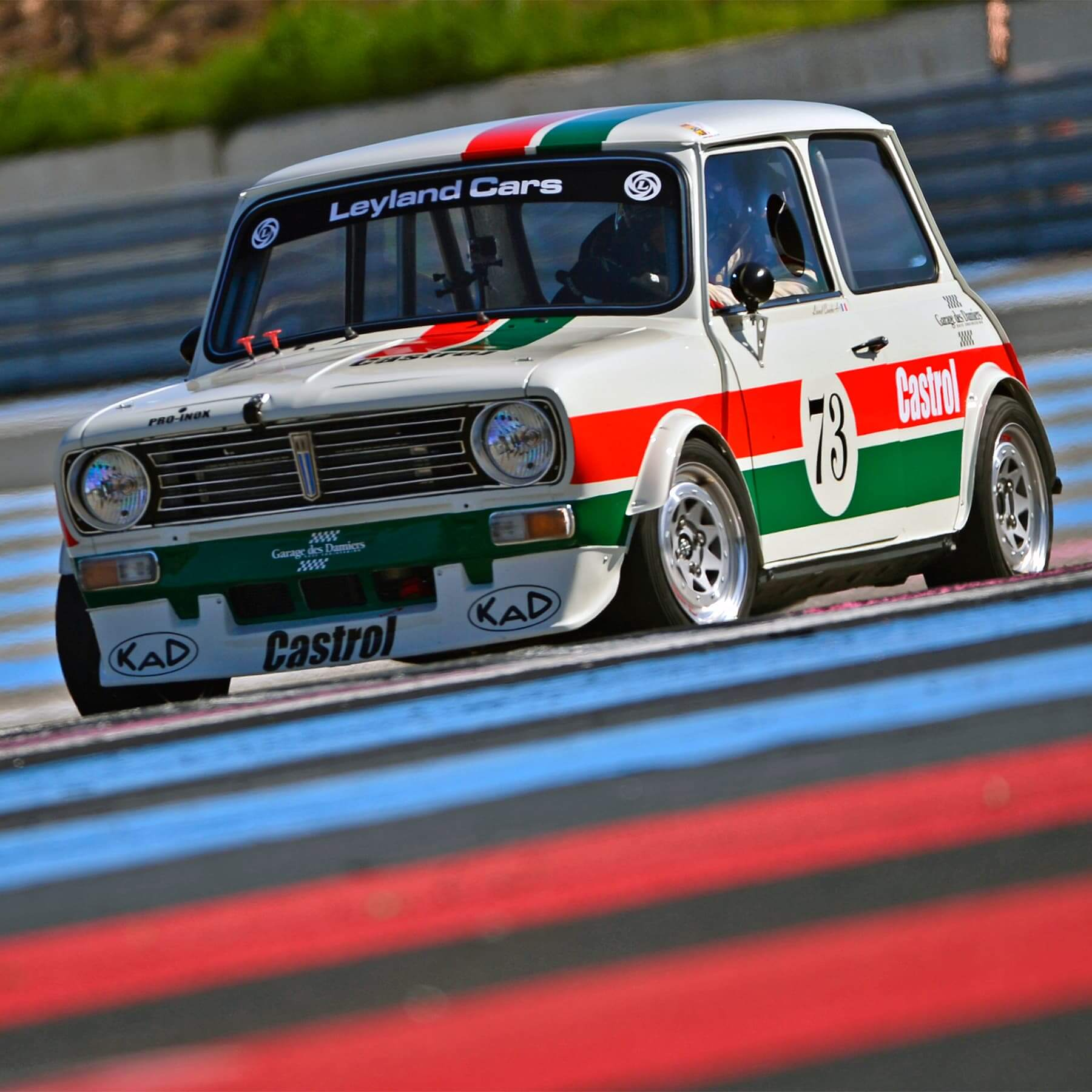 Mini 1275GT Race Engineering - préparation Historic Tour 2016