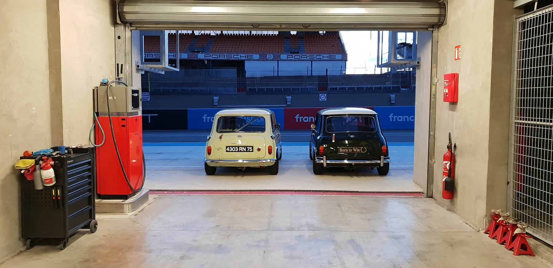 Préparation compétition et Assistance sur circuit - course automobile