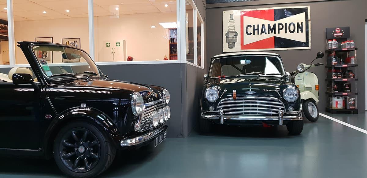 Garage des Damiers - Gardiennage voiture de collection et voiture populaire