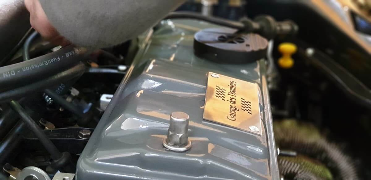 Restauration de moteur de voiture de collection par le Garage des Damiers