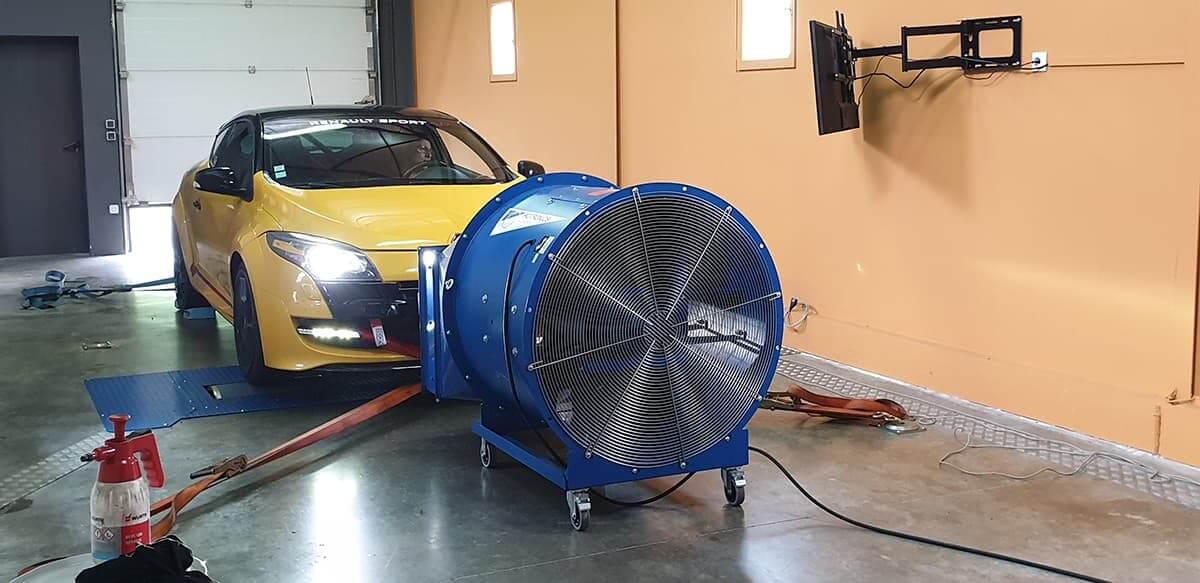 préparation moteur, le réglage ou le contrôle de votre auto (2 roues motrices)