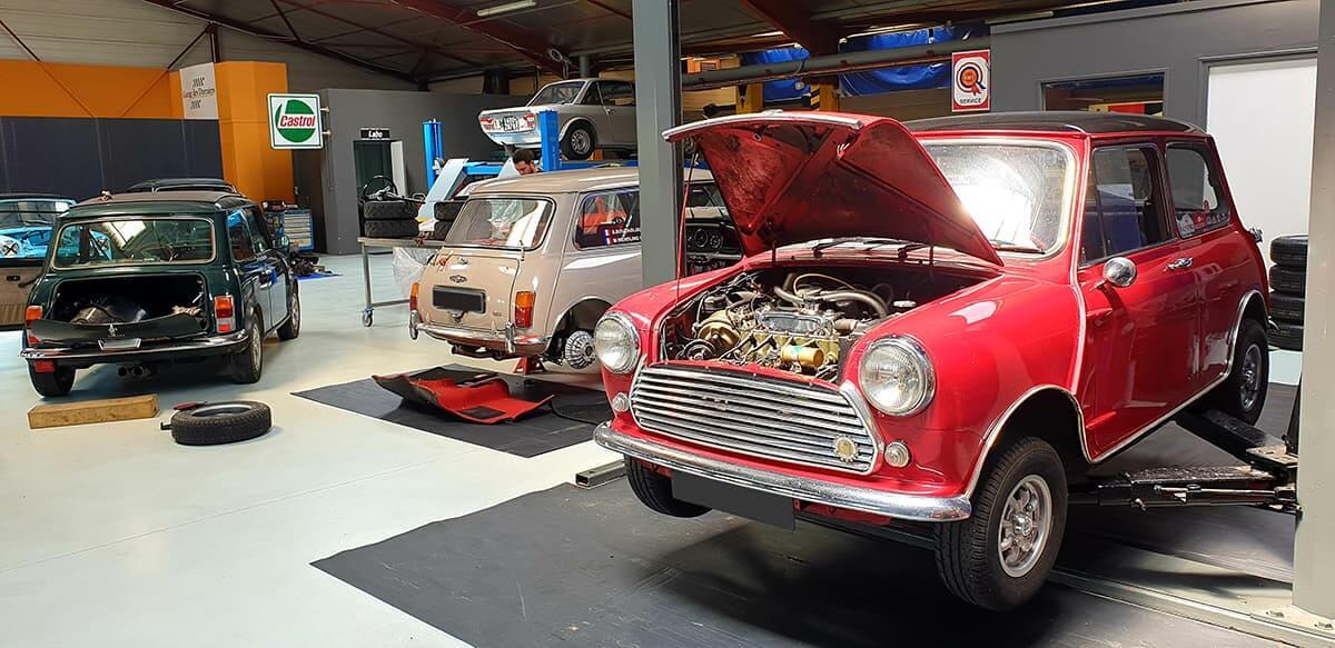 Entretien mécanique de voiture de collection et voitures anglaises