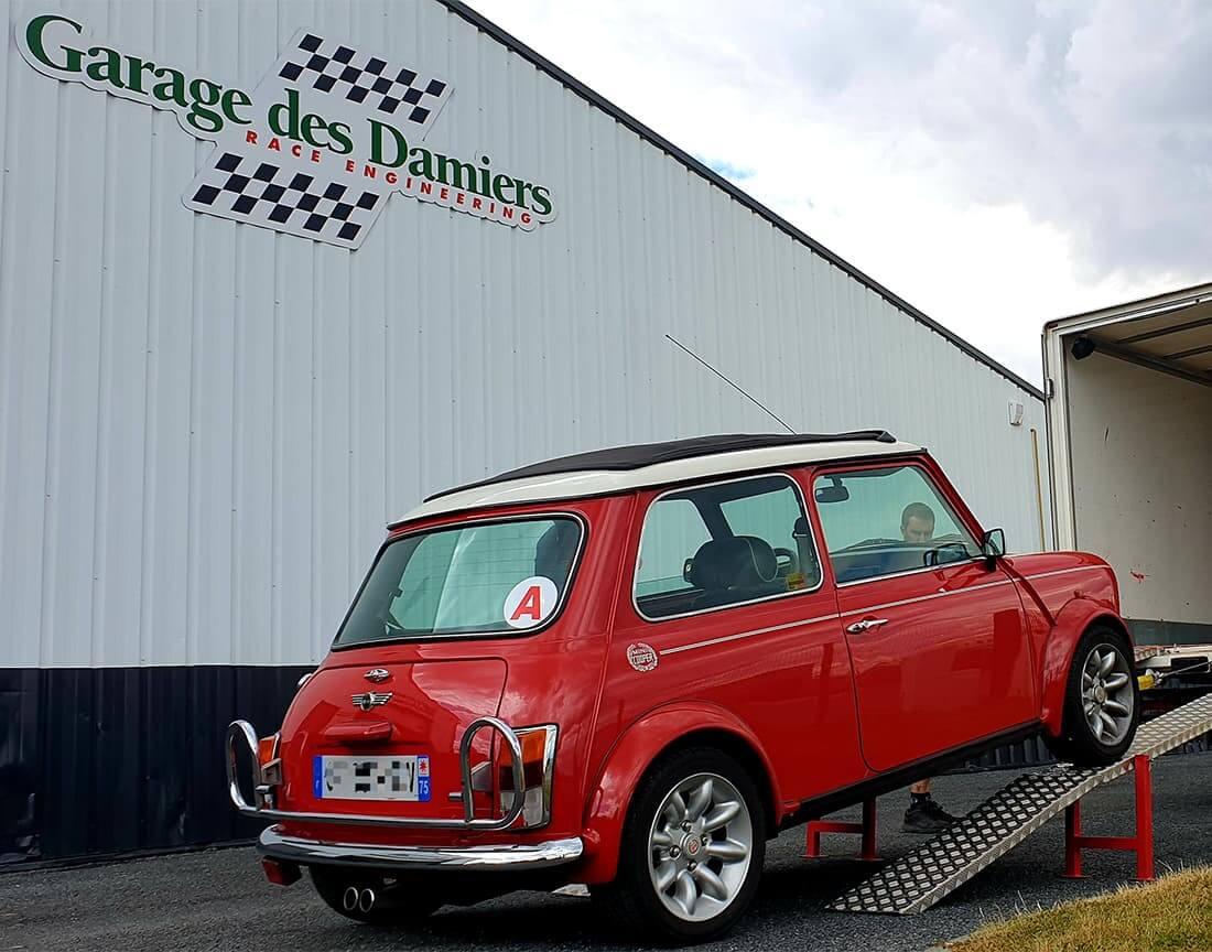 Entretien Austin Mini Cooper S au Garage des Damiers