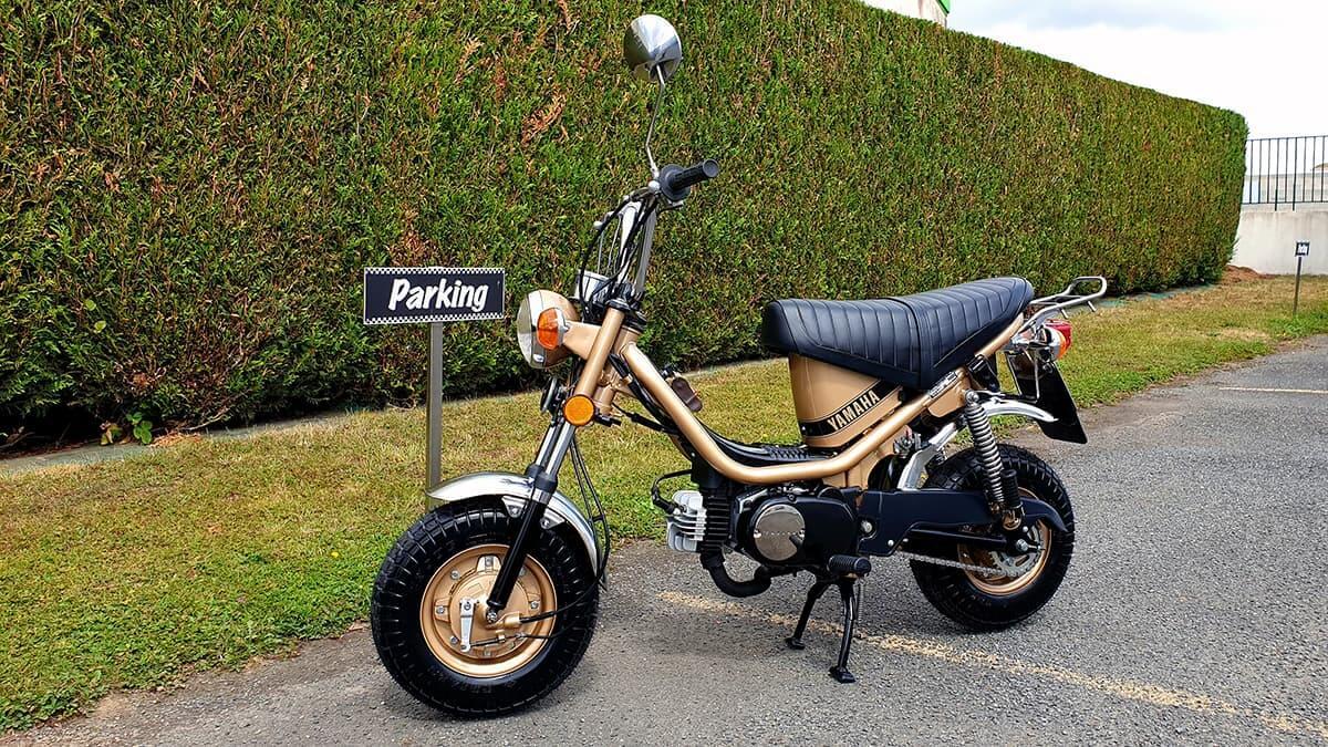 Restauration Yamaha Chappy - moto de collection