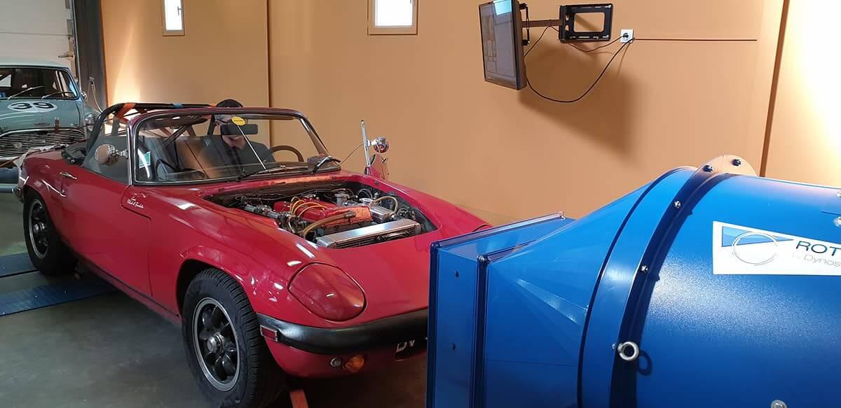 Préparation et configuration moteur - banc de puissance - rotronics
