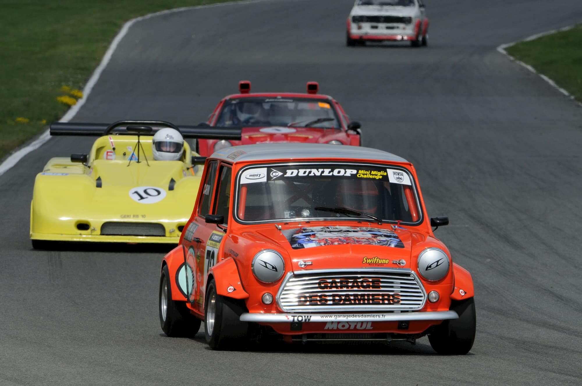 Circuit de Croix en Ternois dans le Pas de Calais - Austin mini Miglia 7 - Born to win
