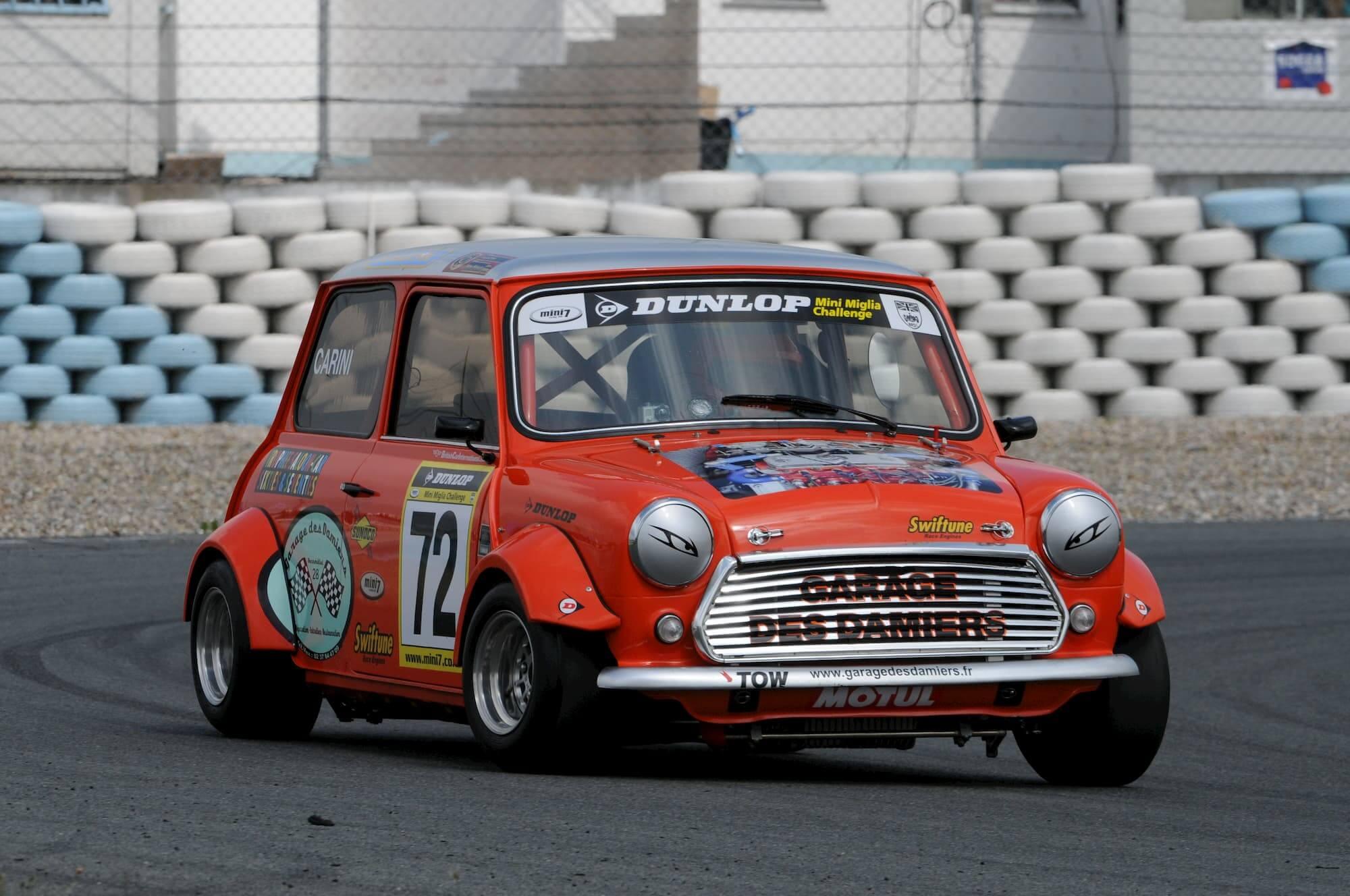Austin Mini Miglia 7 - Voiture de collection - Circuit de Croix en Ternois - Winner 2010