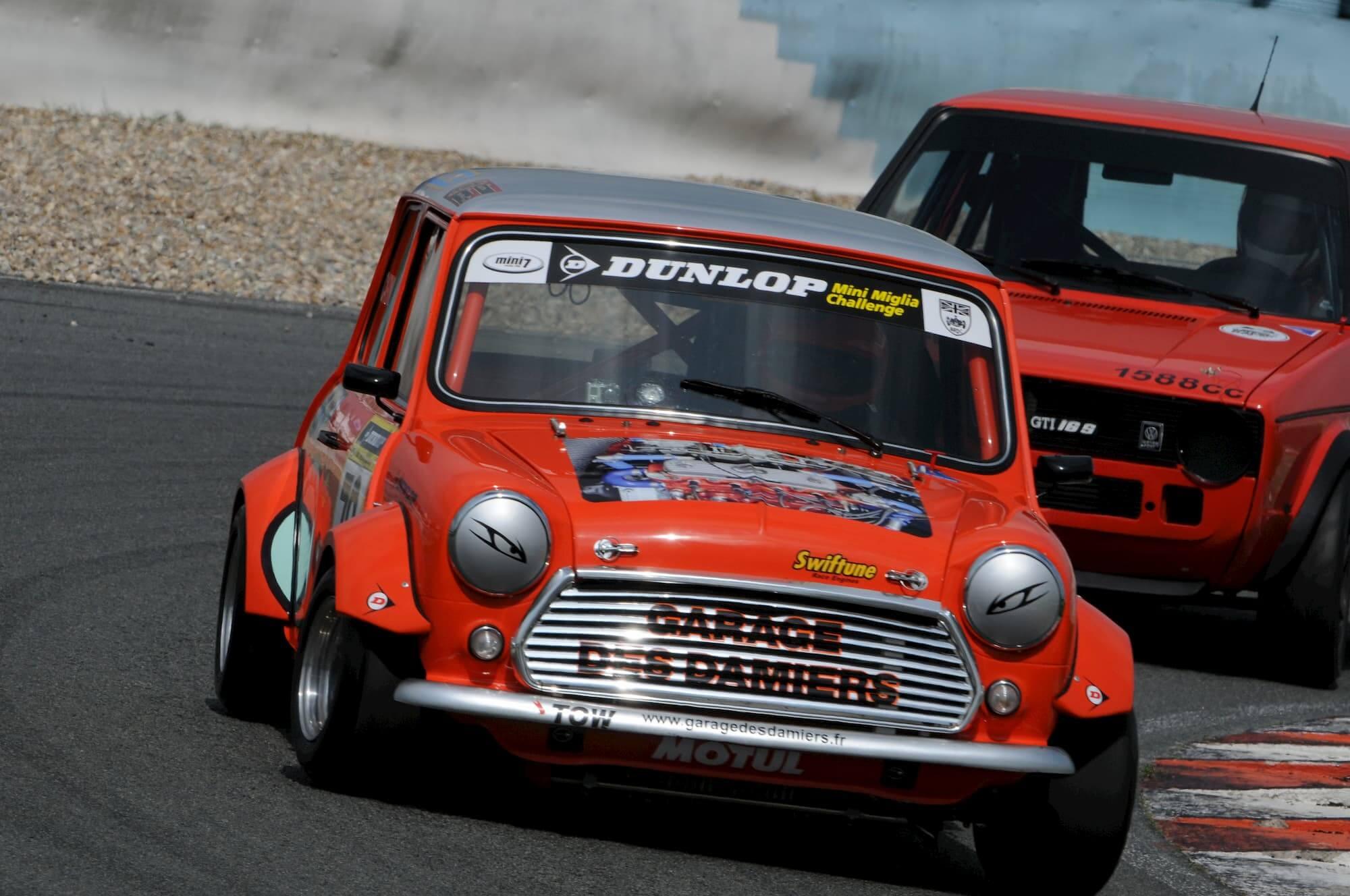 Austin Mini Miglia 7 - British car vainqueur sur le Circuit Croix en Ternois