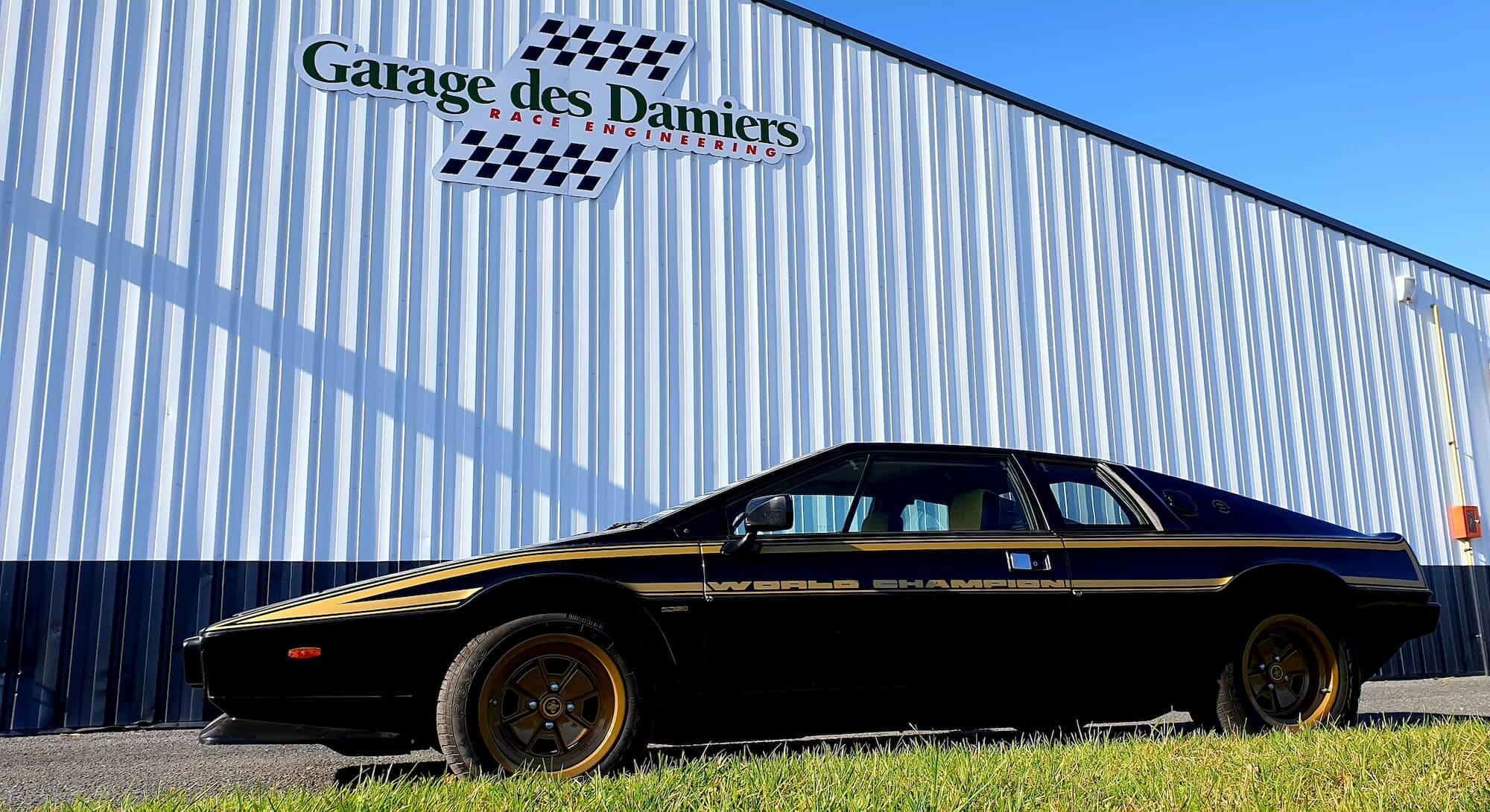 Lotus Esprit - Garage des Damiers - Atelier mécanique voiture de collection