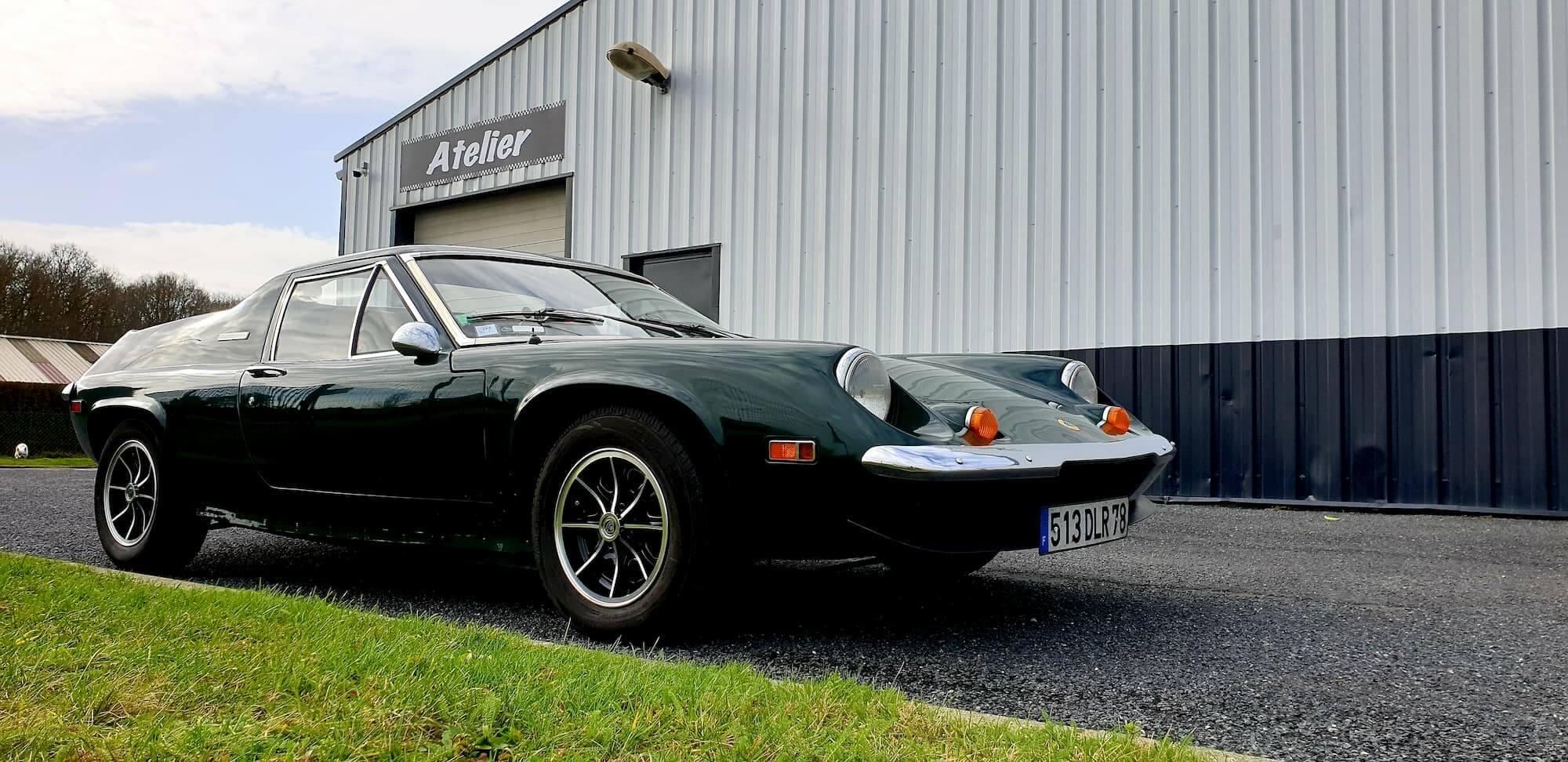 Lotus Europa - Vintage cars et restauration de voitures anciennes