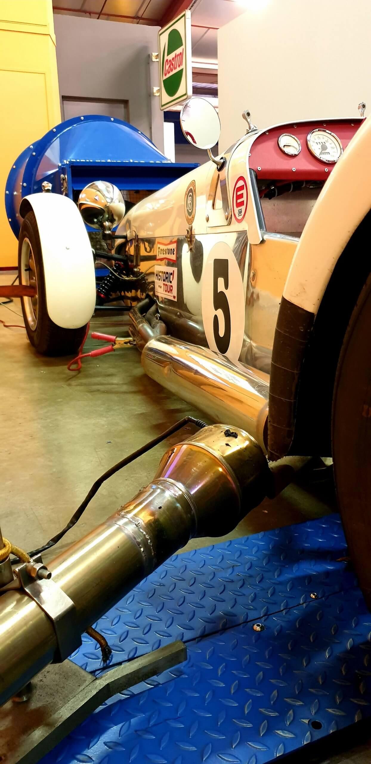 lotus seven - voiture de collection - car racing