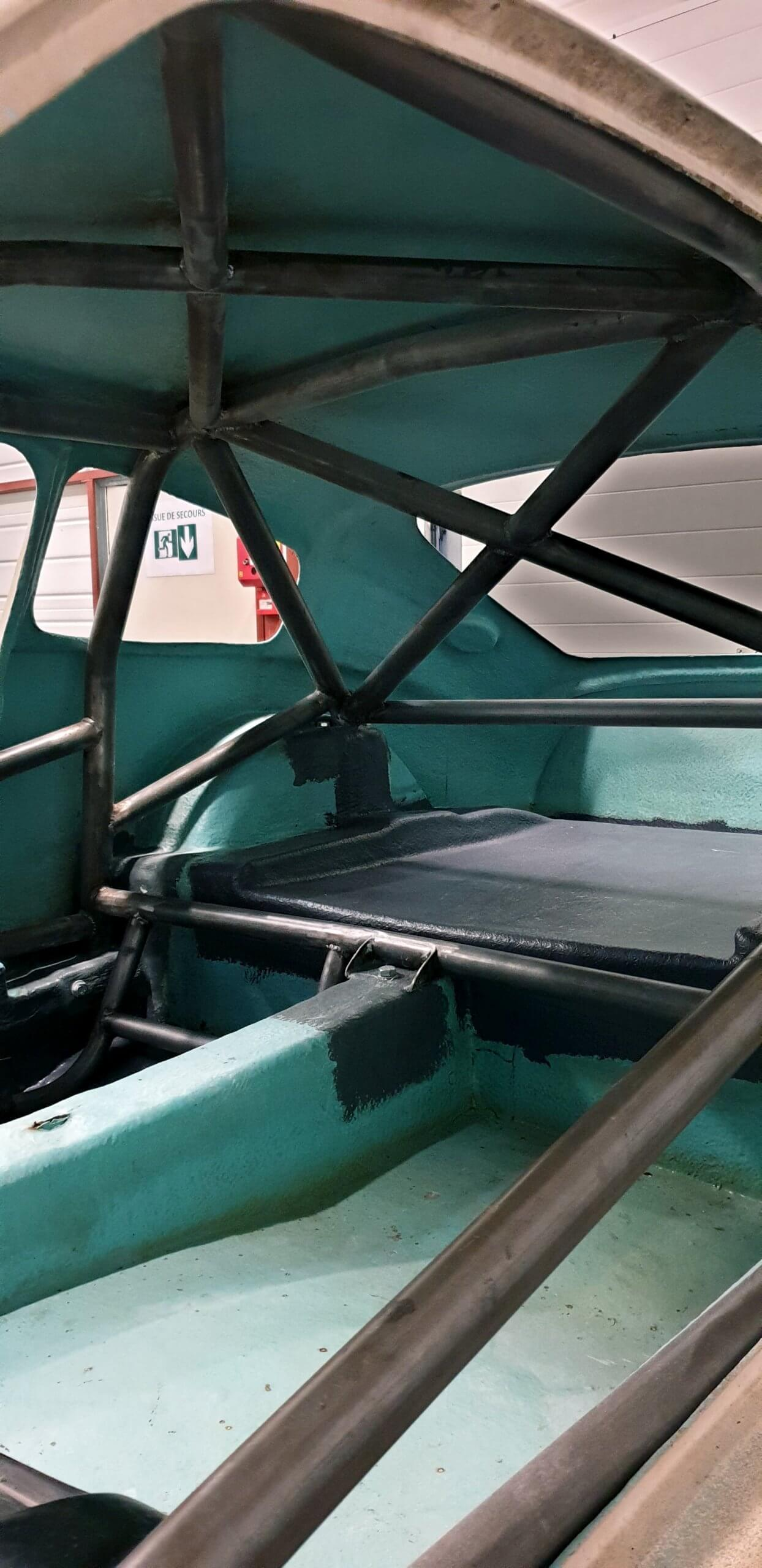 arceau de sécurité - custom cages - old car - classic cars