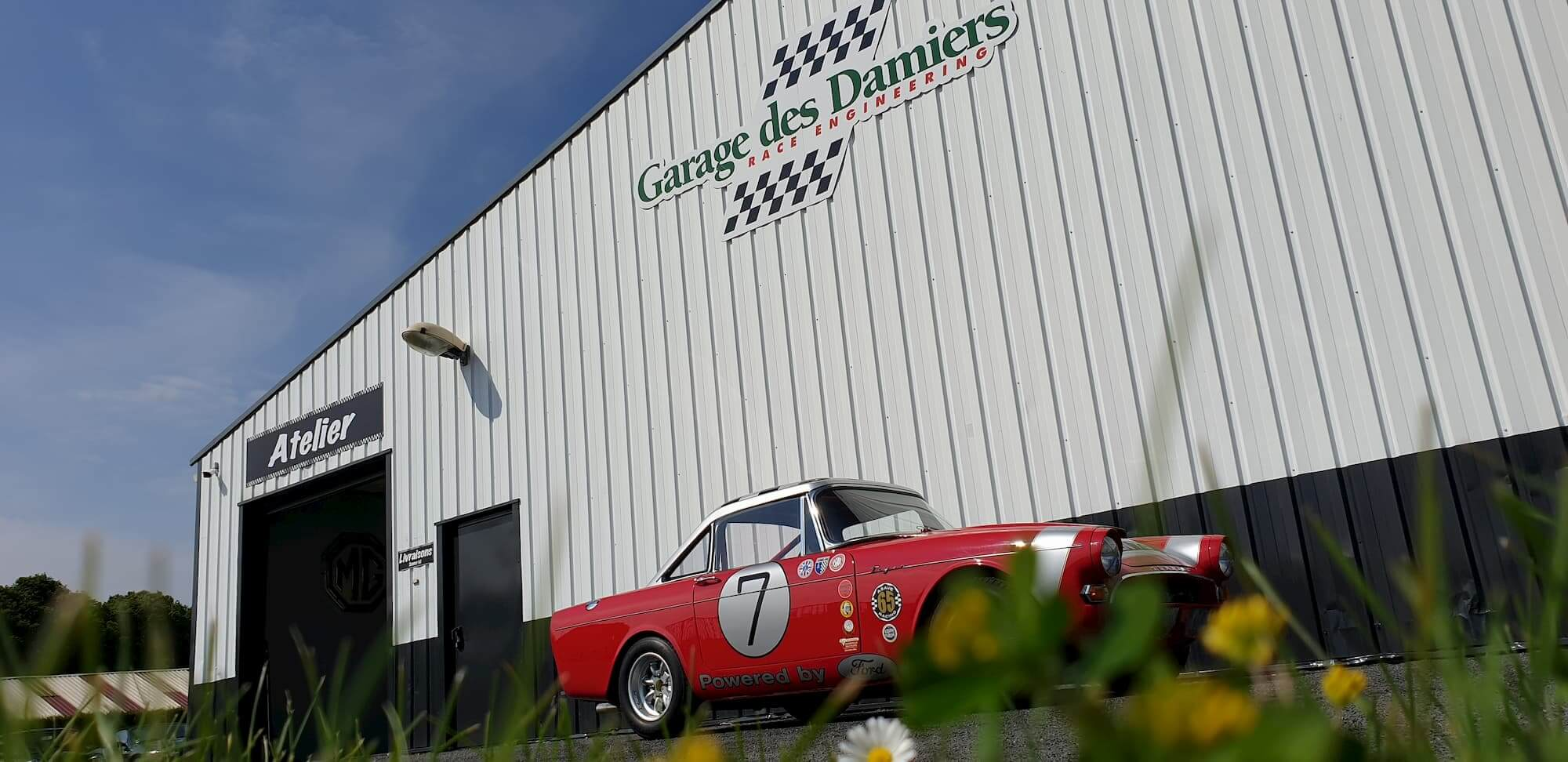 Sunbeam Tiger - Ford V8 - British racing cars, voiture de collection