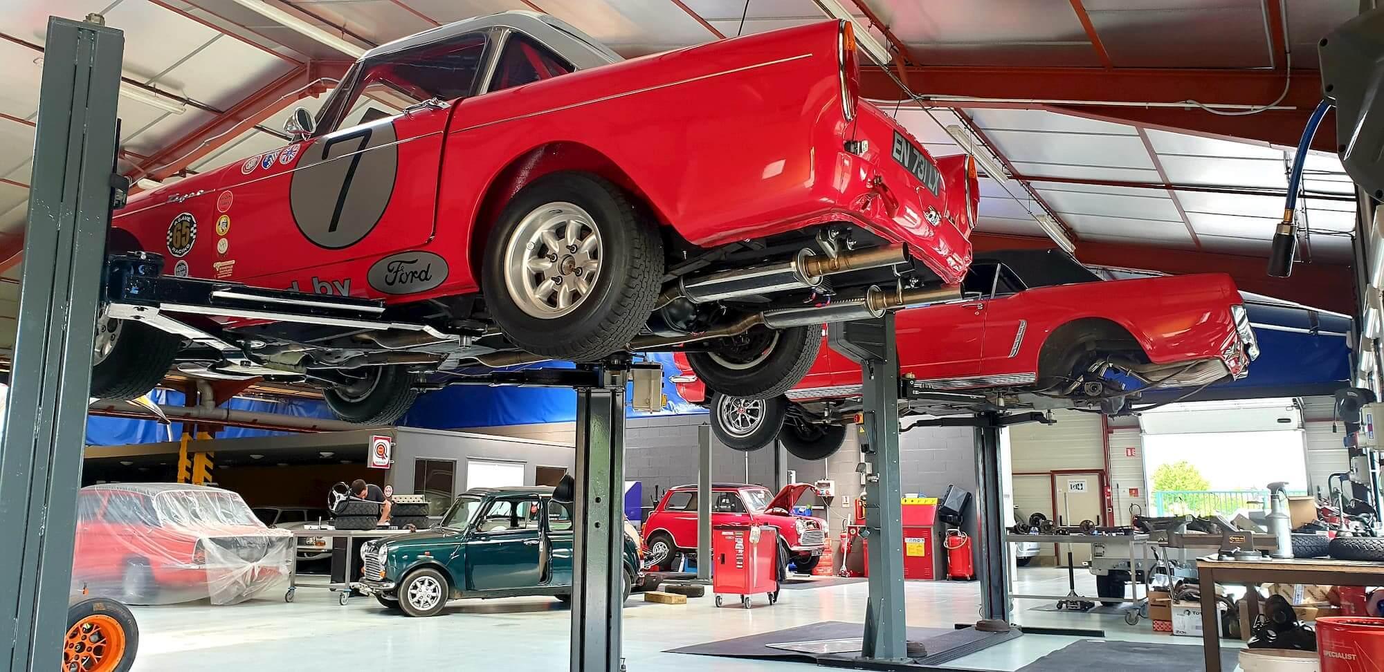 Sunbeam Tiger - Ford V8 - Old british cars - Restauration voiture de collection