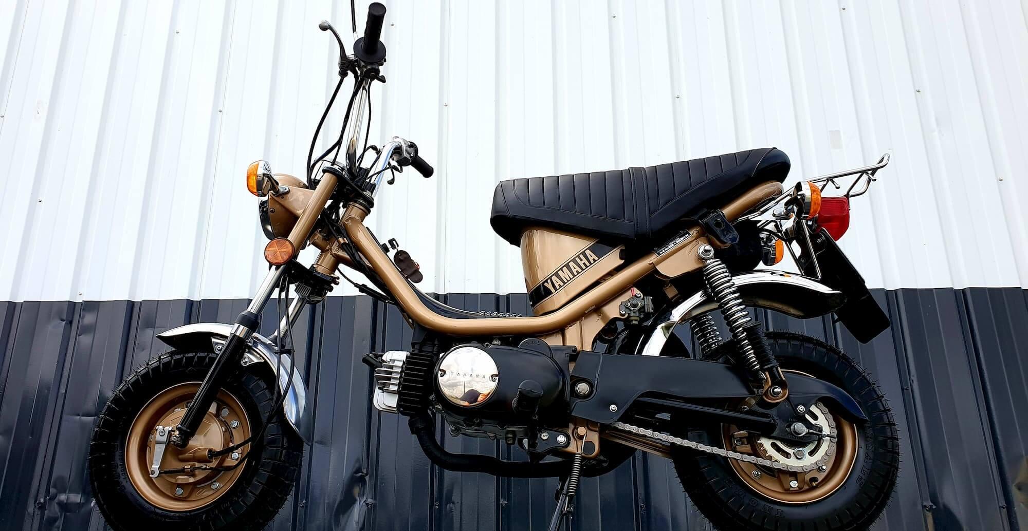 Restauration Yamaha Chappy - Moto vintage - Happy Chappy