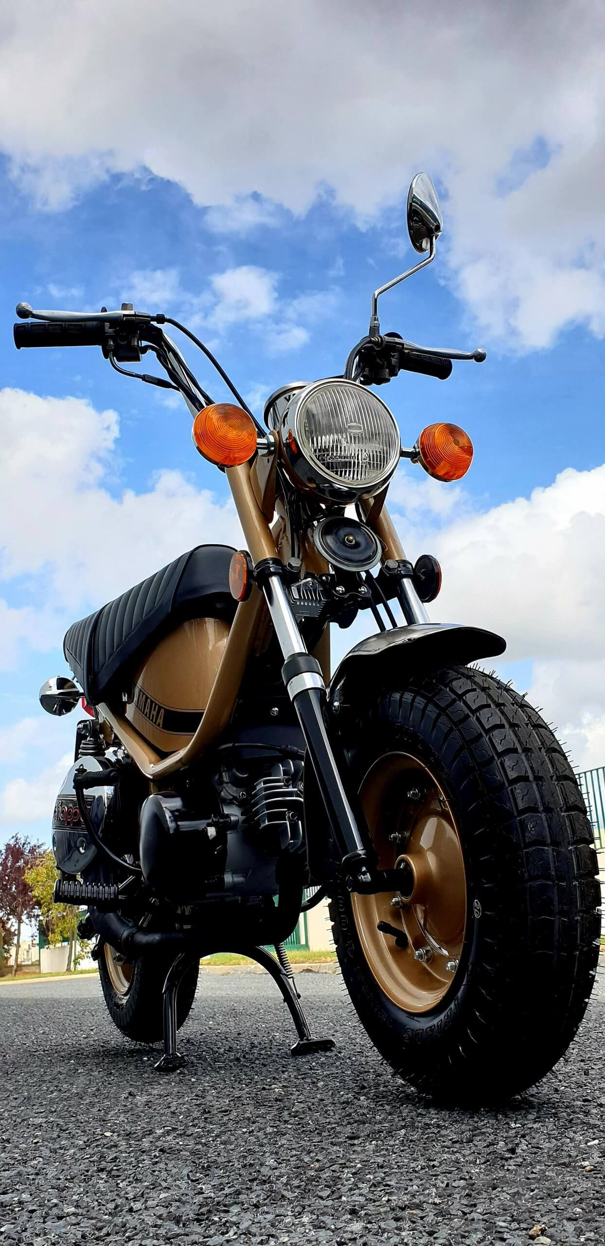 Restauration Moto Vintage Yamaha Chappy - Happy Chappy - Eightie style