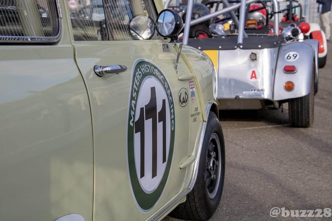 Historic Tour racing car Le Mans 2018 - Mini Austin MK1 born to win
