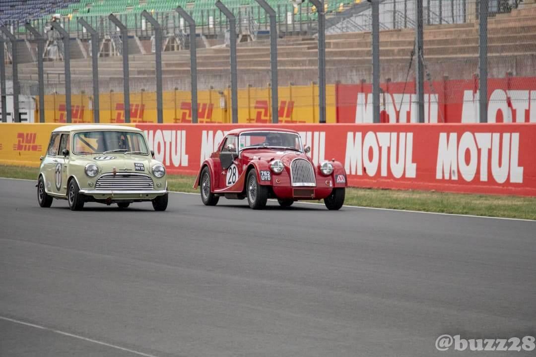 Race engineering Historic Tour - Le Mans 2018 - british car racing