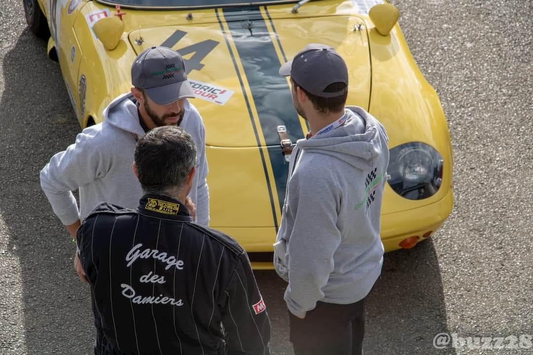 L'équipe du Garage des Damiers à l'Historic Tour - Le Mans 2018 - born to win