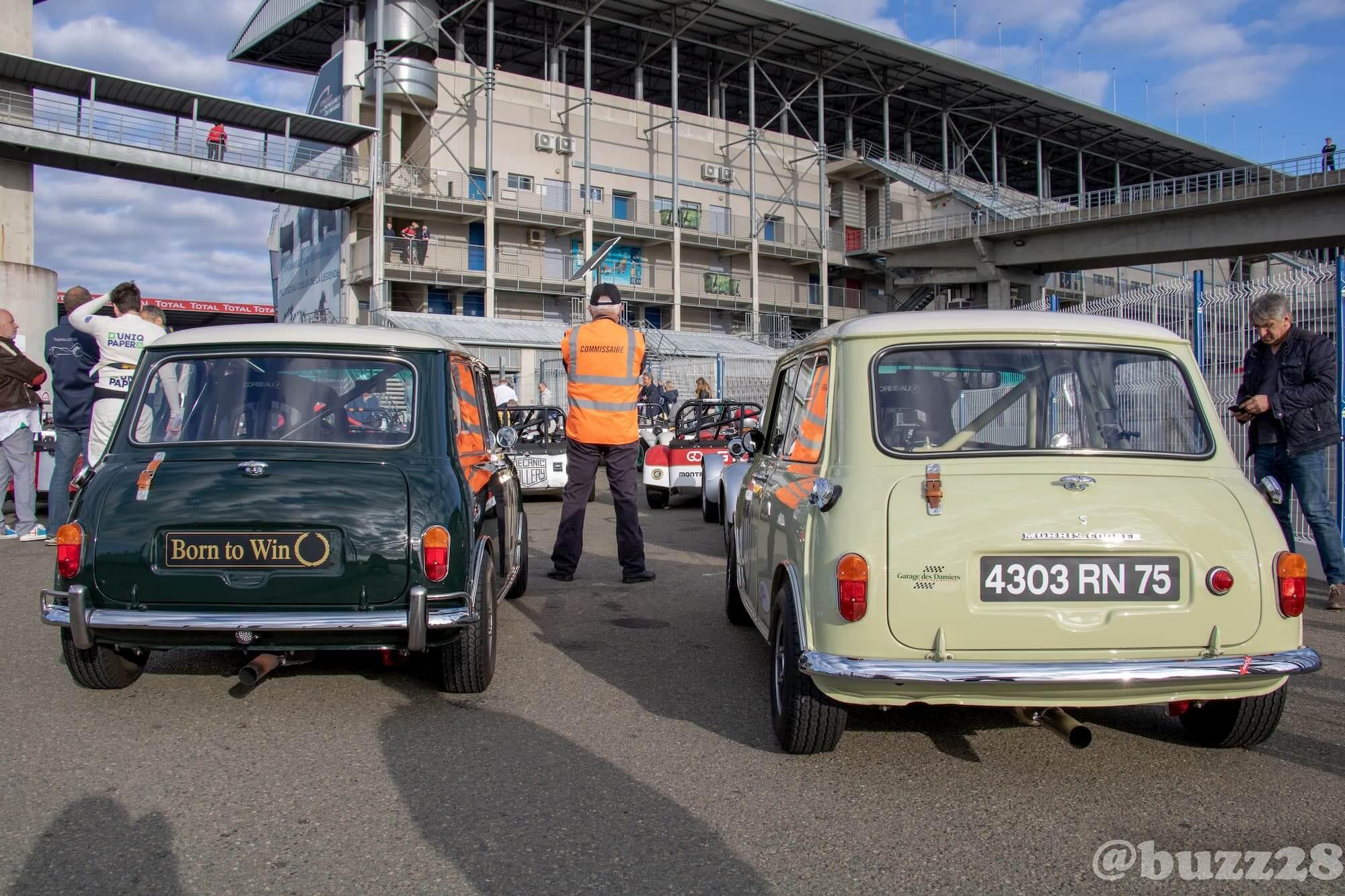 Garage des Damiers Historic Tour - Le Mans Classic 2018 - car racing