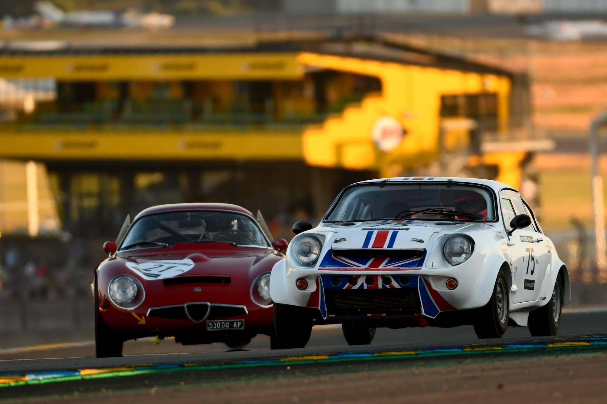 Mini Marcos en course pour la performance - Le Mans Classic 2014 - Peter Auto
