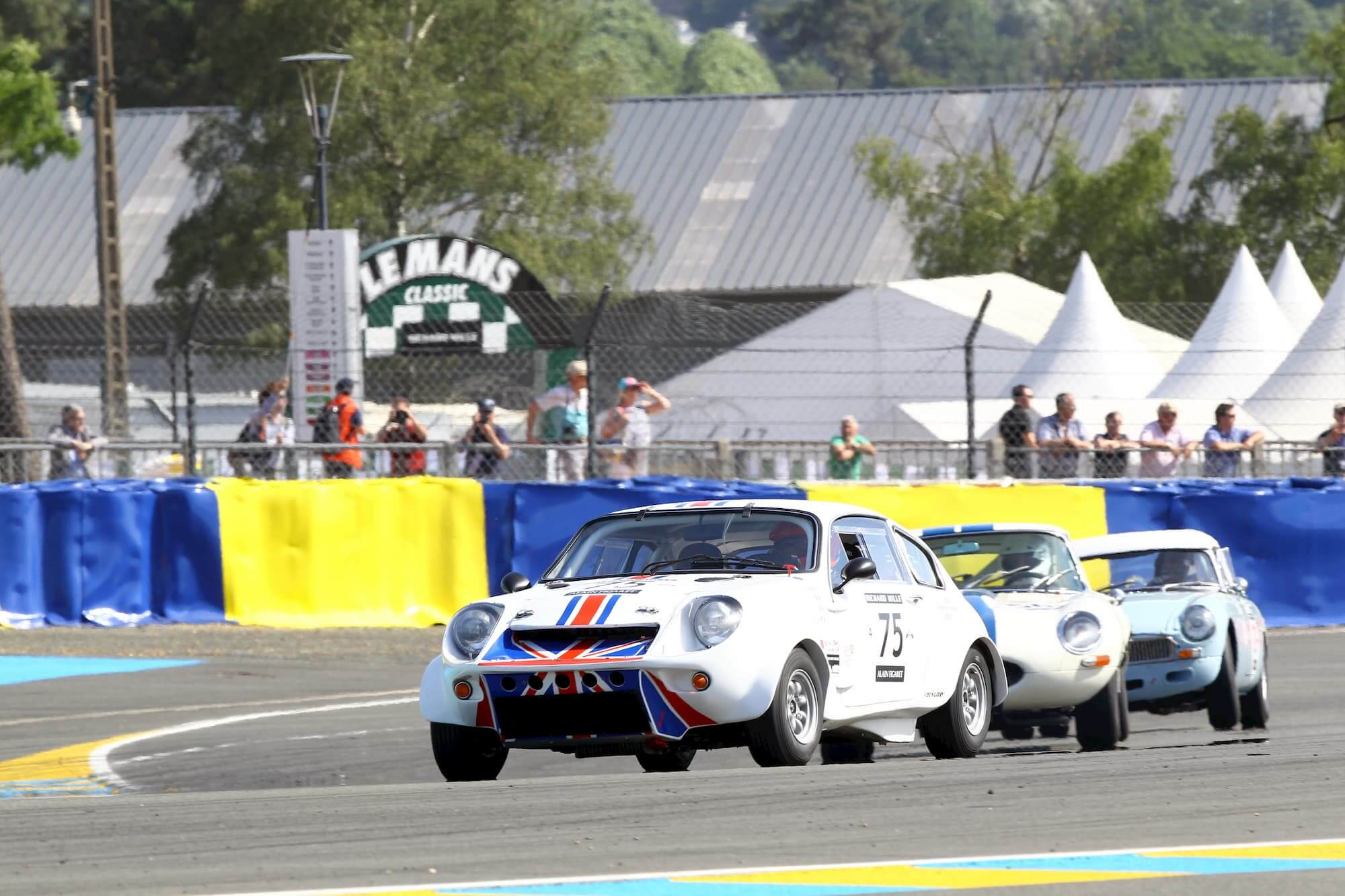 Mini Marcos, british car racing - Le Mans Classic 2016 - Peter Auto