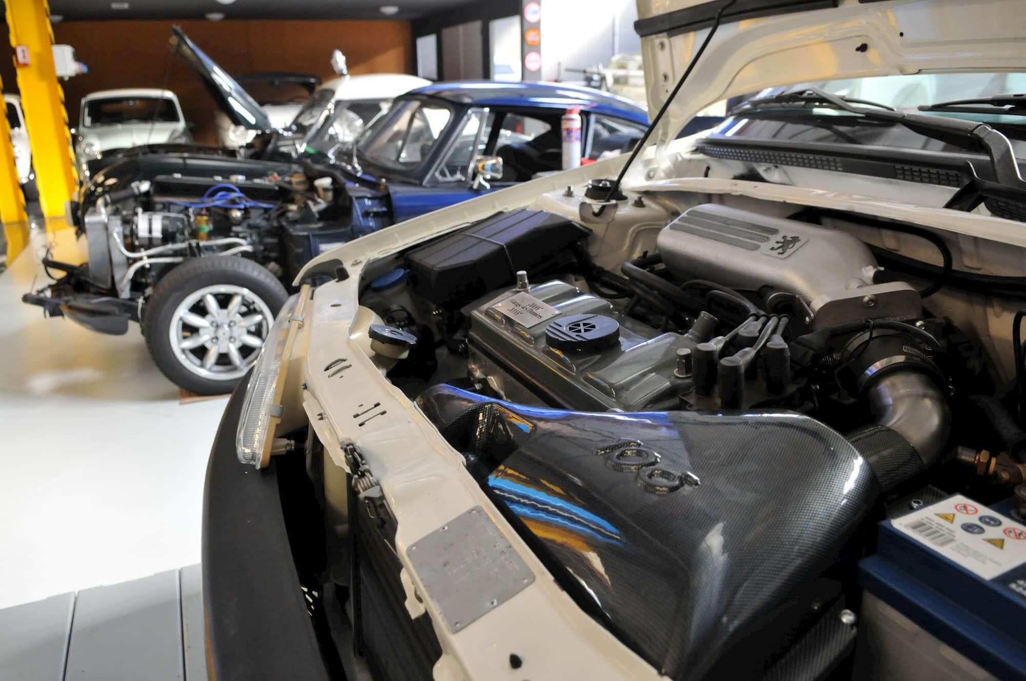 youngtimers - preparation moteur - 106 xsi - voiture vintage