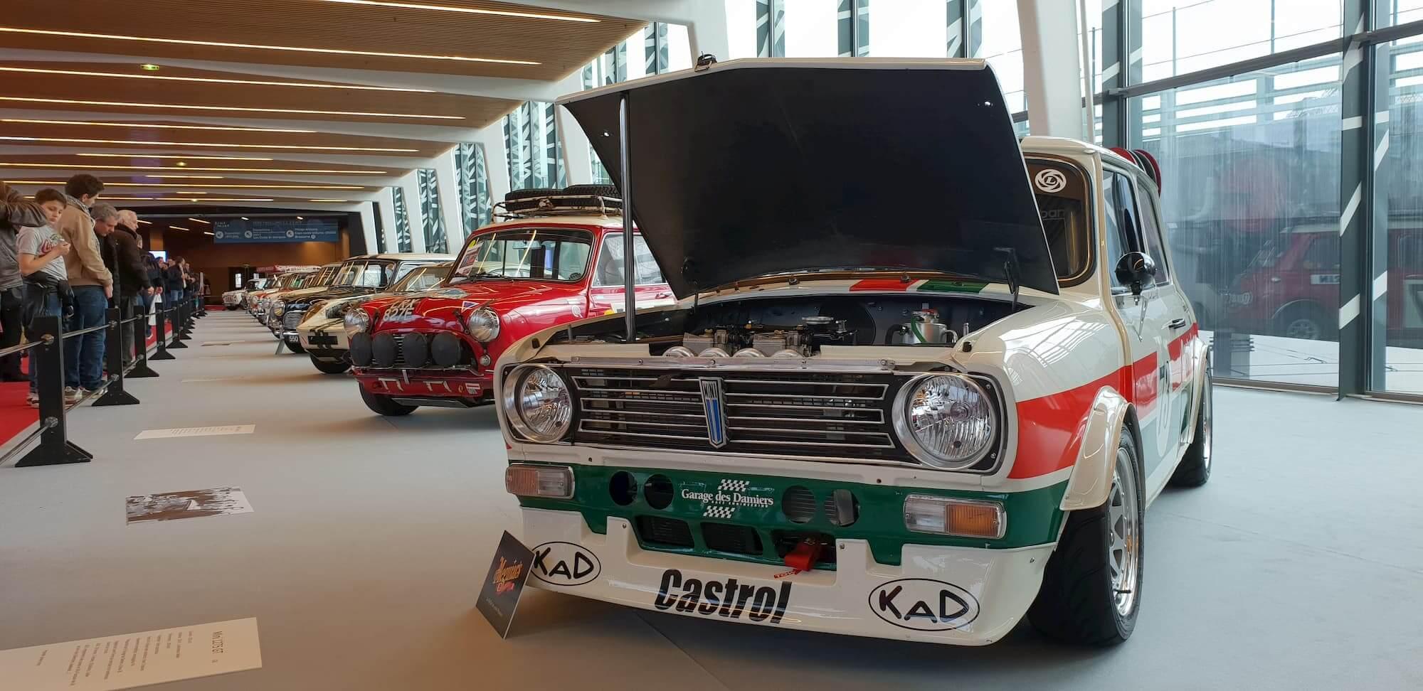 Garage des damiers - 60 ans de la Mini Austin - Mini 1275 GT