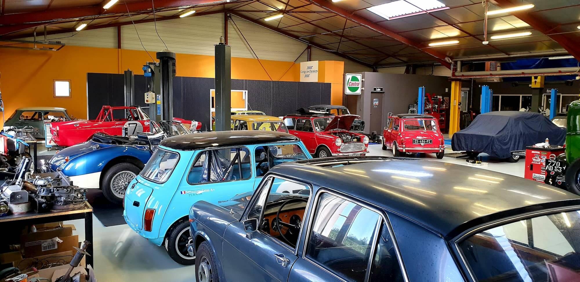 Atelier mécanique spécialiste mini et voiture anglaise - restauration voiture ancienne