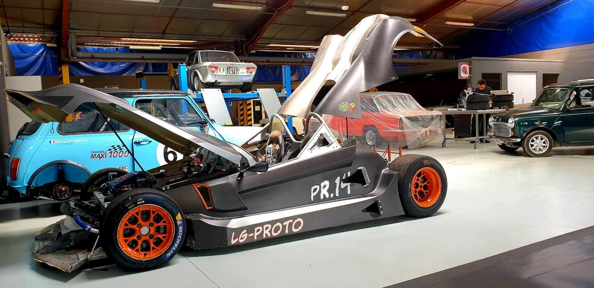 Voiture de course - Réglage chassis, banc de géométrie, 3D laser et réglage trains roulants