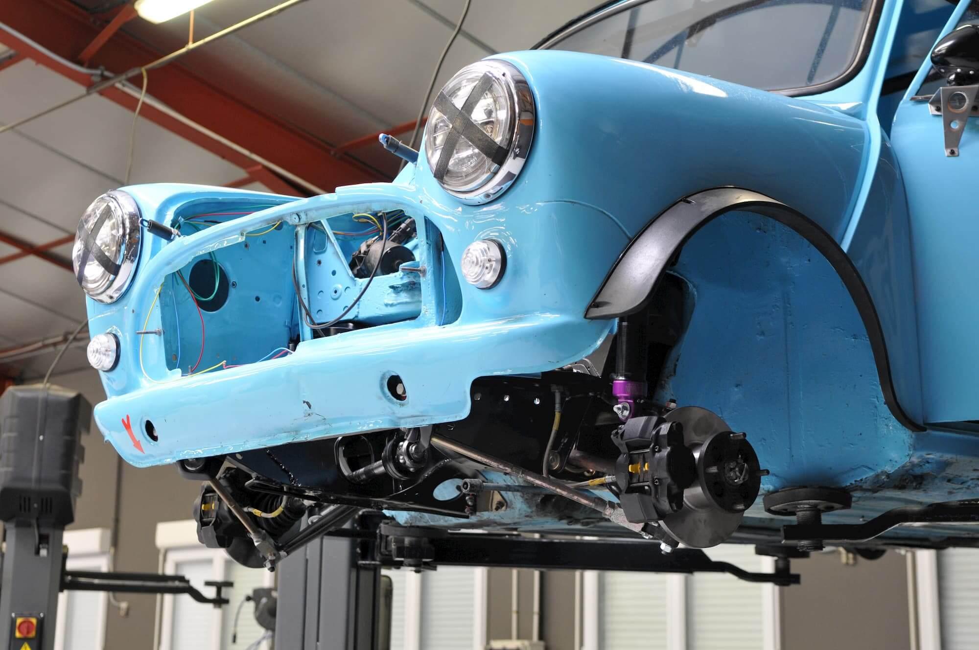 Banc de puissance - Mini Austin pour la compétition - Race engineering