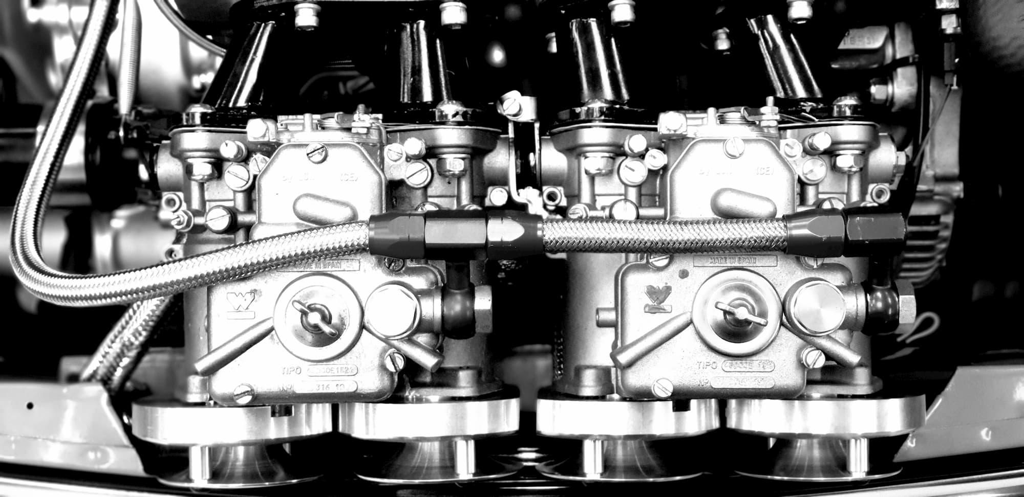 British racing car Mini Austin MK2 - Racing engineering
