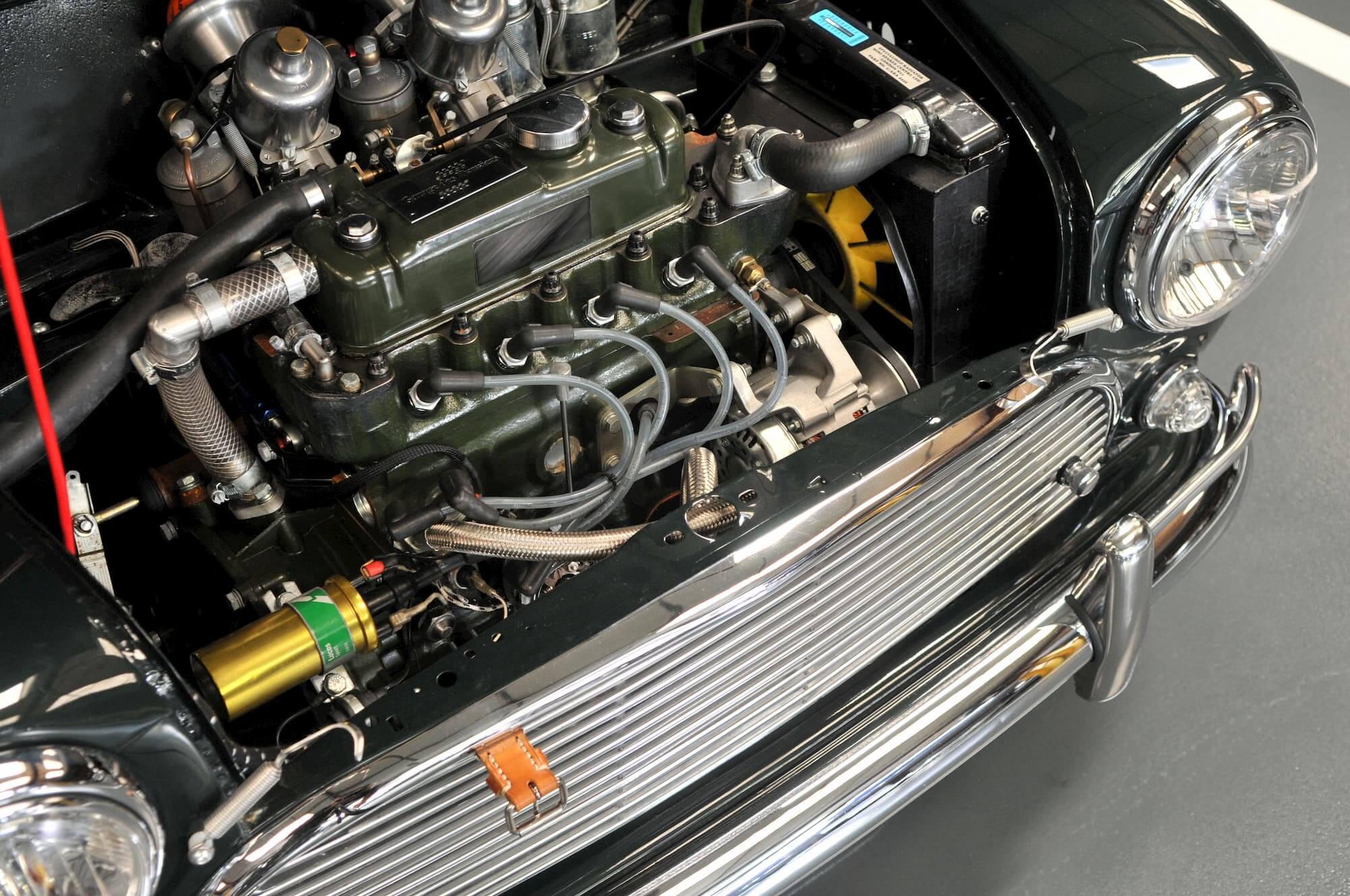 Préparation moteur Mini Copper S pour la performance - British racing car