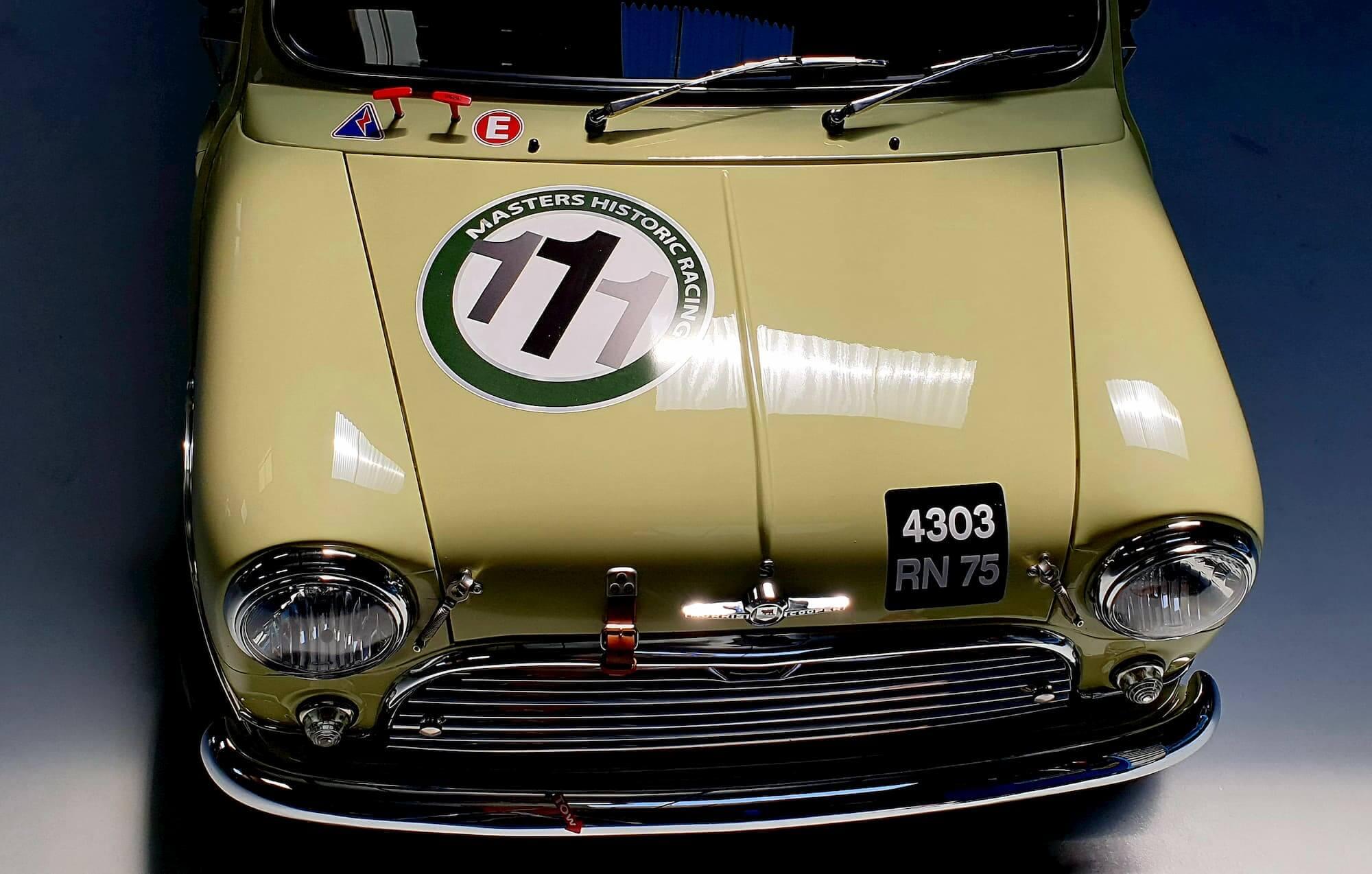 Mini Austin MK1 - refection moteur - Garage des Damiers racing engineering