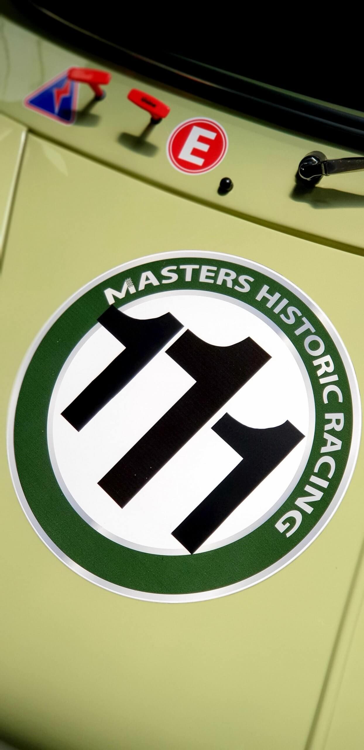 Austin Mini, Masters Historic Racing - Course automobile de voitures anciennes