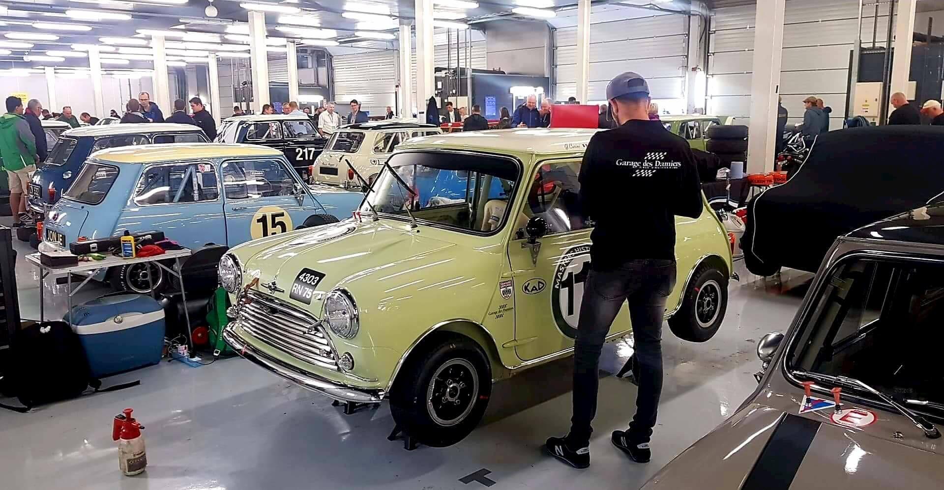 FIA - Silverstone Classic - Mini Austin